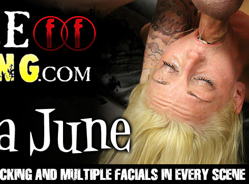 FaceFucking.com Vienna June Extreme Porn Video